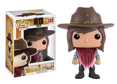 "Figura Carl Funko Pop ""The Walking Dead"""