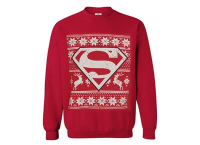 Jersey navideño de Superman