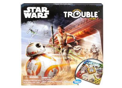 Juego de mesa Trouble de Star Wars