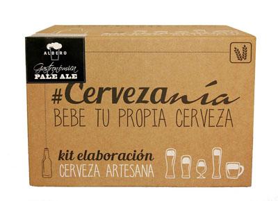 Kit de elaboración de cerveza artesana Pale Ale