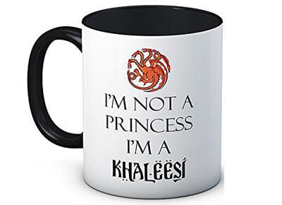 "Taza ""I'm not a Princess I'm a Khaleesi"", Juego de Tronos"