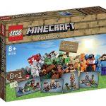Mesa de trabajo Lego Minecraft