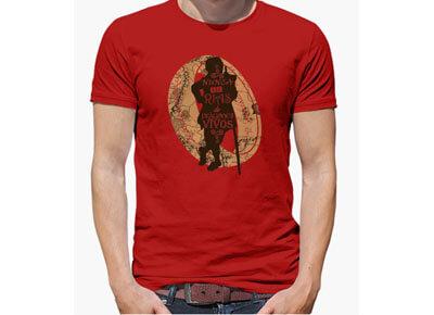 Camiseta «Nunca te rías de dragones vivos» de Bilbo Bolsón