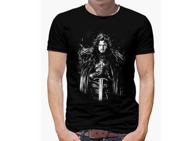 Camiseta friki Jon nieve – Juego de tronos