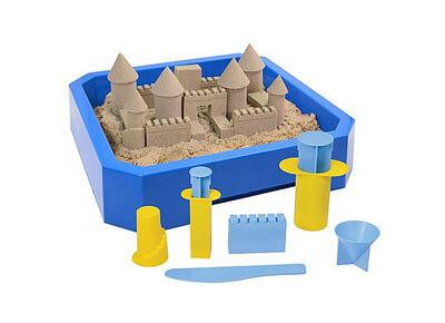 Castillos de arena moldeable Kinetic Sand