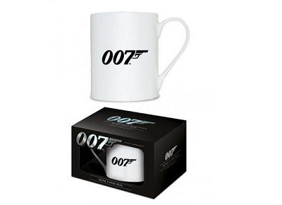 Taza logo 007 James Bond