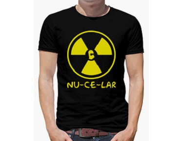 Camiseta Nucelar Simpsons