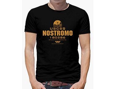 Camiseta USCSS Nostromo Alien