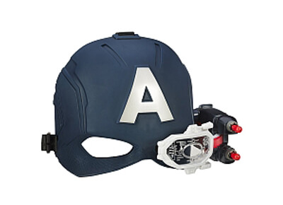 Casco visión de acero del Capitán América