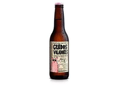"""Cerveza artesana """"Cerdos voladores"""""""