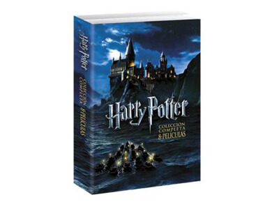 Pack películas Harry Potter (Saga completa)