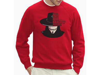 Jersey V de Vendetta: Enuncian la verdad