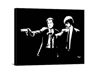 Lienzo Pulp Fiction