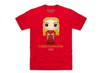 Camiseta Cersei Lannister de Juego de Tronos