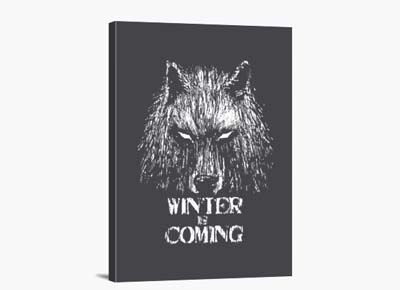 Cuadro «Winter Is Coming»