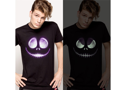 Camiseta Jack Skeleton