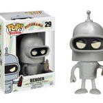 Figura Funko Pop Bender de Futurama