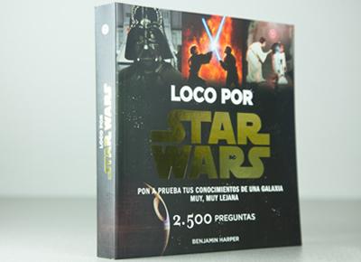 "Libro friki ""Loco por Star Wars"""