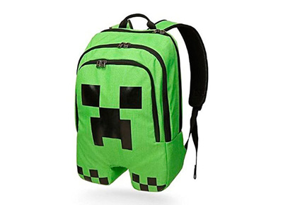 Mochila Creeper de Minecraft