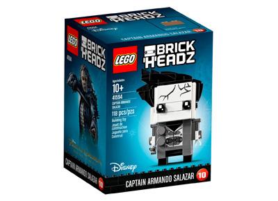 Lego del Capitán Salazar Piratas del Caribe